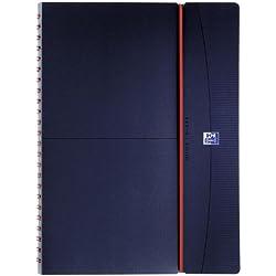Oxford 100738174 Agenda pour enseignant, année scolaire 2019/2020, format A4 à spirales, bleu foncé