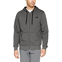 The North Face M FZ HD Sudadera Open Gate, Hombre, Medium Grey Heather (