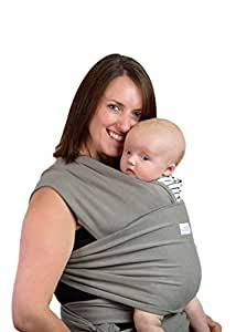 Super Quality Baby Sling Wrap Carrier | Soft Breathable Cotton | Reduces Colic and Reflux | Post Postpartum Belt | Nursing Cover | Great Infant Carrier | Perfect Gift | Plastic Free Packaging