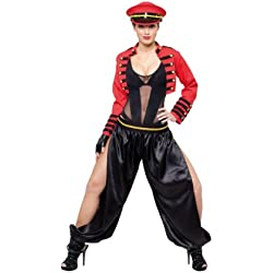 César - Disfraz de rockero para mujer, talla 38-40 (C790-002)
