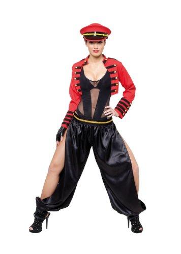 Imagen de cesar  disfraz de rockera para mujer, talla 34  36 c790 001