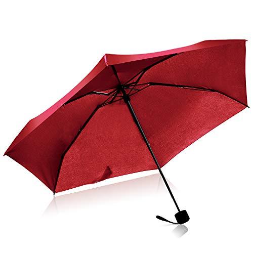 Mini Paraguas Viaje Paraguas Compacto Plegables Antiviento