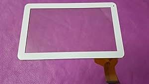 "Blanc: ecran tactile vitre Digitizer verre tablette 10"" Android CN048C1060G12V0"