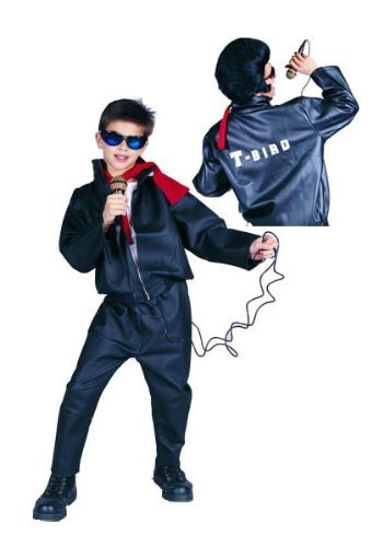 -Bird Leatherlike Jacke Kost-m - Gr--e Child-Medium ()