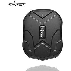 TKSTAR Localizador gps para coche , Magnético fuerte Rastreador GPS , Vehículos Monitoreo Sistema en Tiempo Real , Anti perdido Dispositivo impermeable gps tracker con gratis APP para Smartphone TK905