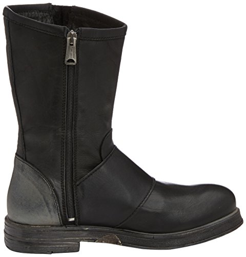 REPLAY Chiyo Damen Biker Boots Schwarz (Black Gold 6)