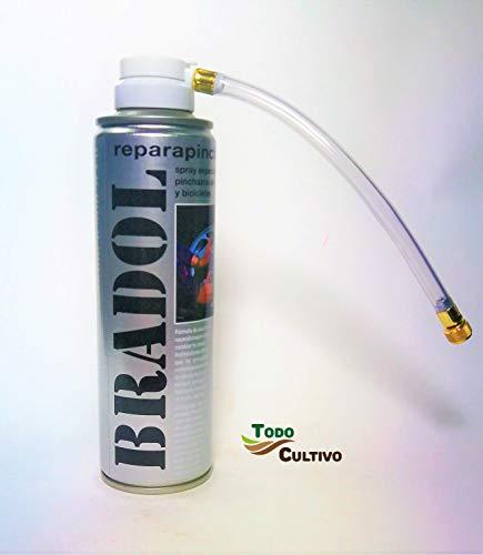 Todo Cultivo Bradol Kit antipinchazo. Spray repara
