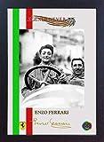 SGH SERVICES Gerahmter Fotodruck Enzo Ferrari GP Legend Formel 1 signiertes Autogramm, vorgedruckt, MDF-Rahmen