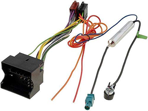 ADNAuto 78960 Kit Fiche Iso Autoradio Opel Ap05 et Adaptateur Antenne