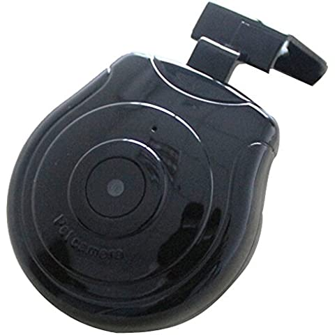 Camara - TOOGOO(R)Monitor Grabador de video camara DVR Collar de perro digital para Perrito Gato Perrito Negro + Naranja