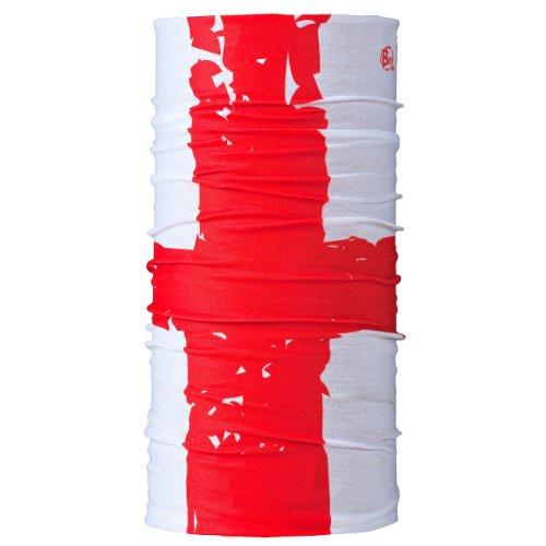 Buff Jnr Tuch, Kinder, vielseitig nutzbar Mehrfarbig Bandiera St. George 23 cm