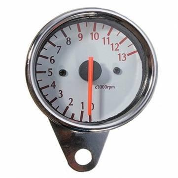 [Spedizione gratuita 7~12 giorni] 13000rpm mechanica universale calibro contagiri moto // Universal Mechanica 13000RPM Tachometer Gauge Motorcycle