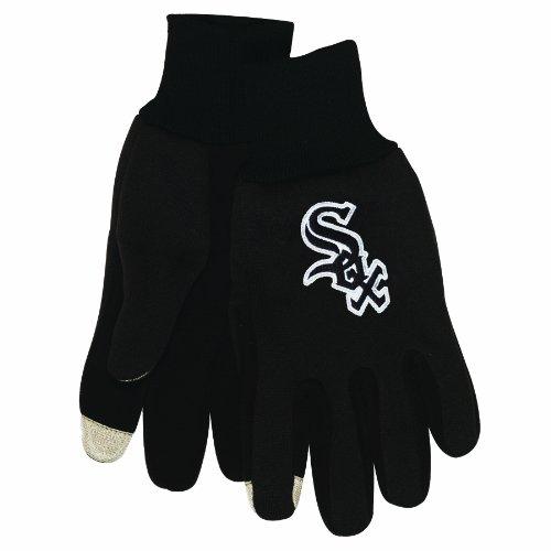 MLB Herren Technologie Touch Handschuhe, Herren, Chicago White Sox