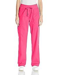 Koi Mujer pantalón medico ultra cómodo- Colores-Blanco/Negro/Rosa/Verde/Frambuesa/Azul- Profesiones-Dentista/Enfermera/Veterinario/ Medico/ Sanitaria