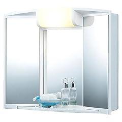 Idea Regalo - Unbekannt Armadietto a specchio Angy, dimensioni: 59 x 50 x 15 cm (L x A x P)