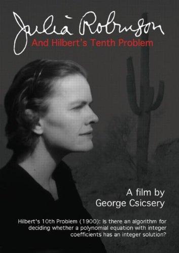 Julia Robinson and Hilbert's Tenth Problem (DVD)
