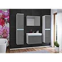 badezimmerm bel weiss g nstig. Black Bedroom Furniture Sets. Home Design Ideas