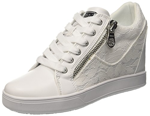 Guess Footwear Active Lady, Baskets Femme, Bianco