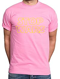 Sambosa Stop Wars Camiseta de hombre Star Vader Luke Wars Jedi Yoda Skywalker