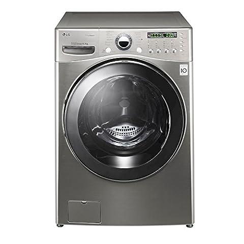 LG Machine à laver à chargement frontale fh255fds7Capacité 15kg Centrifugeuse 1200tr/min classe énergétique a + +
