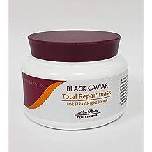 Mon Platin Total Repair Hair Mask - For Straightened Hair - Natural Silk Therapy Black Caviar 8.5 fl. oz / 250 ml