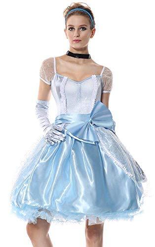 Kleid Puffy Rock Kleid Halloween kostüm Prinzessin Kleid Maskerade Karneval Erwachsene Belle Rollen Anzug (Size : M) ()