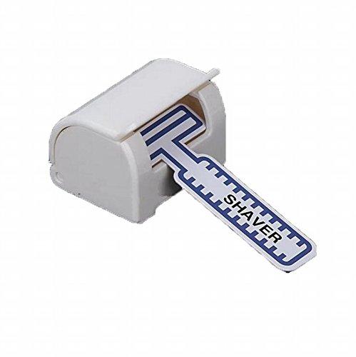 buydirect-badezimmer-sicherer-stand-rasierer-saugnapf-razor-holder-organizer-haken-weiss