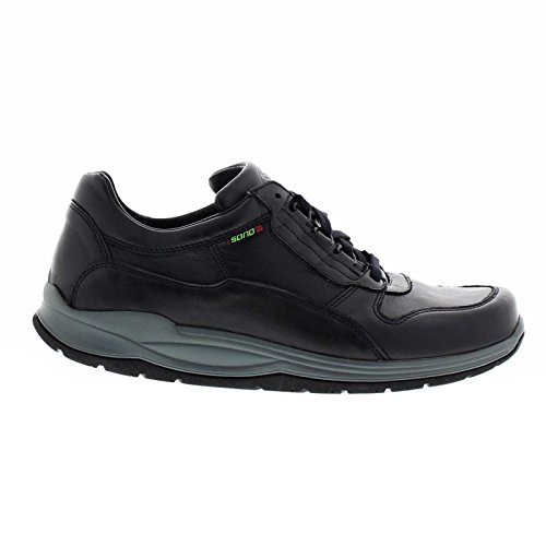 Sano Mens Oryx 1200 Leather Shoes Noir