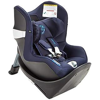 CYBEX Gold Kinder-Autositz Sirona M2 i-Size, Für Kinder ab 45 cm bis 105 cm (max. 19kg), Inkl. Base M, Indigo Blue