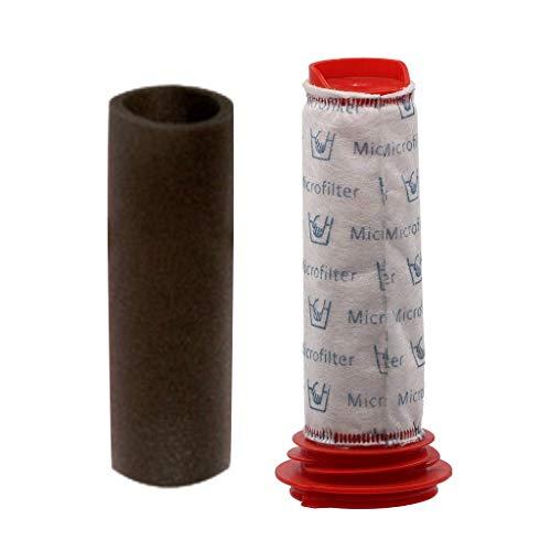 Fliyeong Staubsaugerzubehör Filter Baumwollfilter Staubsaugerzubehör Filter Baumwollfilter Ersatzsatz Wiederverwendbarer, langlebiger Vormotorfilter hoher Qualität -