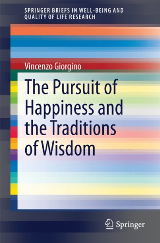 The Pursuit of Happiness and the Traditions of Wisdom (SpringerBriefs in Well-Being and Quality of Life Research) (English Edition)