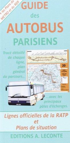 Descargar Libro Guide des autobus parisiens de Cartes Randonnées IGN