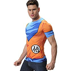 Cody Lundin imprimir tapas de la manga corta camiseta fitness apretada camiseta hombres película héroe logo hombres (M)