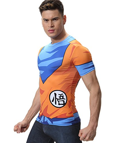 Camiseta Fitness apretada - Dragón Ball Z