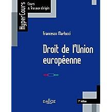 Droit de l'Union européenne - 1ère édition