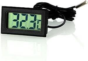 Neuftech Lcd Digital Thermometer Temperaturfühler Elektronik