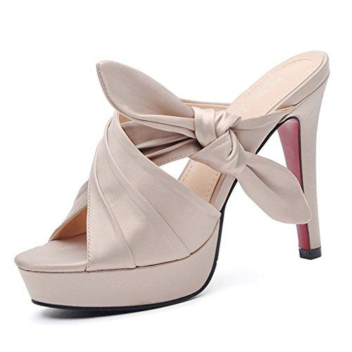 Chaussures femme HWF Sandales Pantoufles Femmes été Stiletto Talons Femmes Chaussures