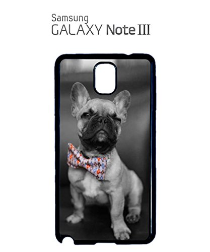 Bow Tie Dog Puppy Funny Summer Holiday Mobile Phone Case Samsung Note 3 White Noir