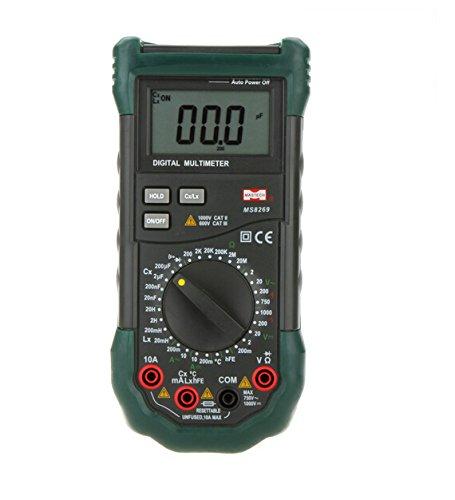Temperatur-messgerät Tester (MASTECH MS8269Handheld Digital Multimeter LCR-Messgerät Widerstand Kapazität Induktivität & Temperatur Tester)