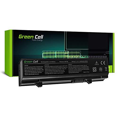 Zusätzlicher 6-zellen-akku (Green Cell Standard Serie KM668 KM742 KM752 KM760 Laptop Akku für Dell Latitude E5400 E5410 E5500 E5510 (6 Zellen 4400mAh 11.1V Schwarz))