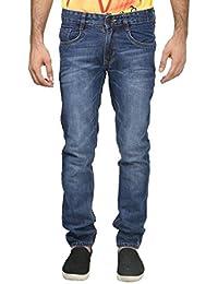 Trendy Trotters Men Regular Blue Denim Slim Fit Jeans For Men And Boys