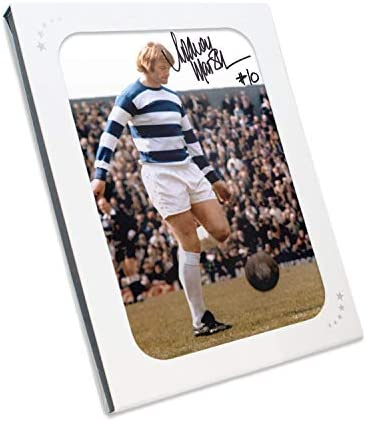 Rodney Marsh Signed QPR QPR QPR Foto in scatola regalo B01CD4XU1G Parent | Up-to-date Styling