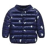 Elecenty Giacche Piumino Classico Ultra Leggero Del Cappotto fumetto inverno neonata ragazzo bambini Vestiti capispalla caldi spessore giacca Abbigliamento