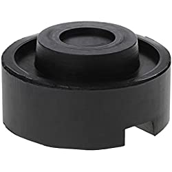 Black Rubber Schlitzboden Jack Pad Frame Rail Adapter Für Pinch Weld Side Pad
