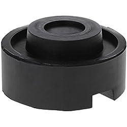 Black Rubber Schlitzboden Jack Pad Frame Rail Adapter Für Pinch Weld Side Pad