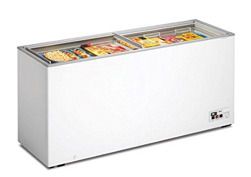 Tiefkühltruhe mit Glasschiebedeckel, 1810x600x820mm, 508 L,