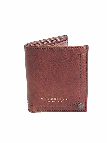 PORTAFOGLIO THE BRIDGE SMALL MAN WALLET 01473701 1A MARRONE