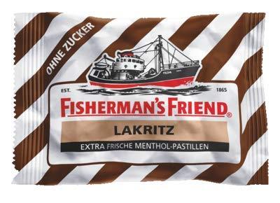 Preisvergleich Produktbild Fishermans Friend Lakritz Ohne Zucker Pastillen,  25 g
