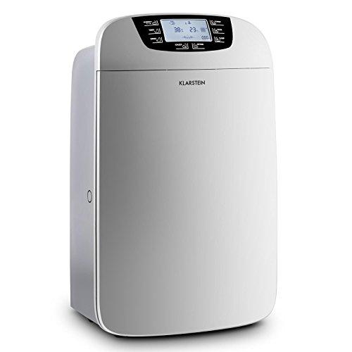 Klarstein 10028185 dehumidifier - Luftentfeuchter (Edelstahl, 40 - 100%, 5 - 32 °C)