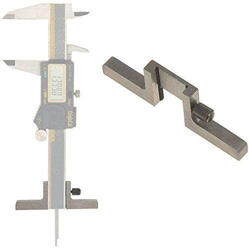 iGaging Caliper Depth Base T-Bar Attachment for Dial/Digital/Vernier Calipers 4, 6, 8, 12 by iGaging - Digital Dial Caliper